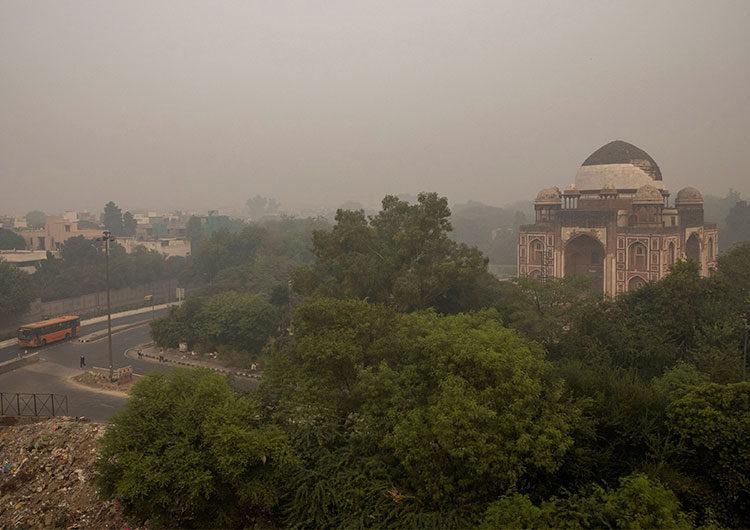 Nueva Delhi, la capital más contaminada del mundo por tercer año consecutivo