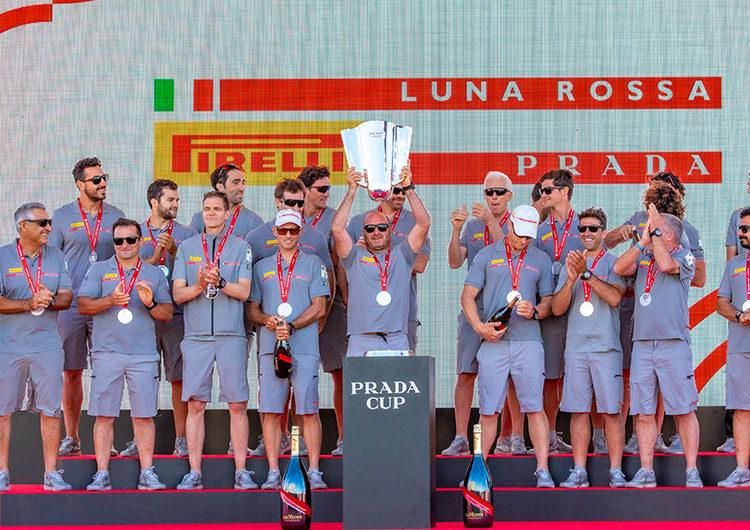 Luna Rossa Prada Pirelli conquista la Copa Prada y se dirige a la Copa América