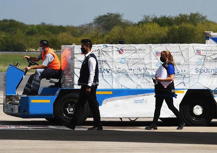 Llegan hoy al país 370 mil dosis Sputnik V y Argentina supera las 5 millones de vacunas recibidas