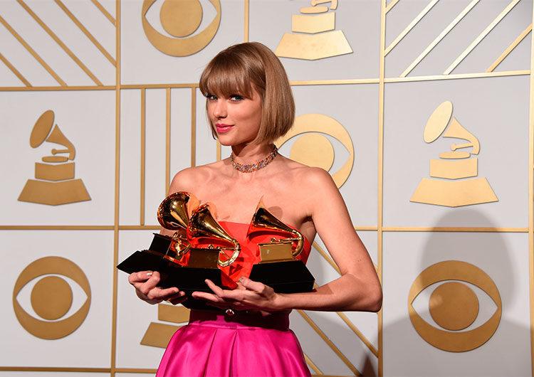 Así es como Taylor Swift hizo historia en los premios Grammy 2021