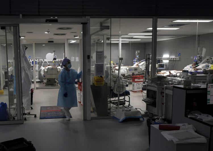 La ocupación de camas de terapia intensiva volvió a superar su pico en la ciudad de Buenos Aires