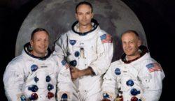 Muere Michael Collins, astronauta del Apolo 11, la primera misión…
