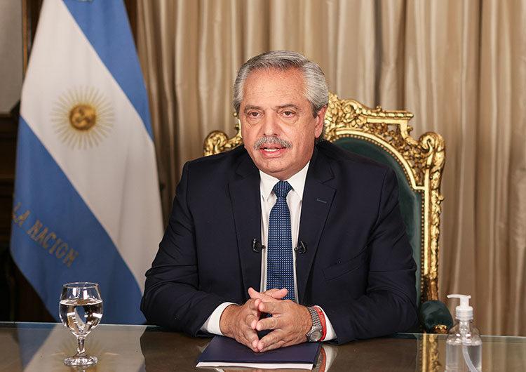 El Presidente anunció las medidas para enfrentar la segunda ola de coronavirus