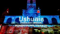 Ushuaia presentó el destino con un mapping en el cabildo…