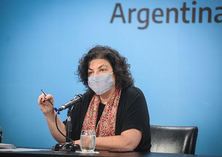 «Argentina está en el peor momento», dice Vizzotti al defender la suspensión clases presenciales