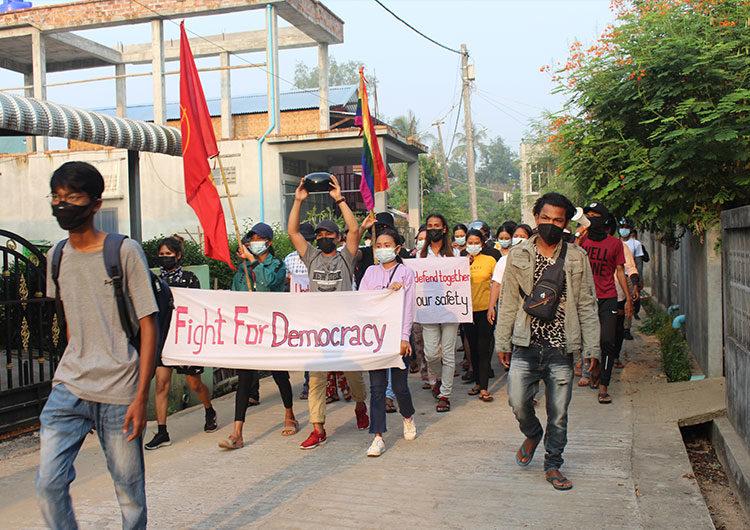 Elevan a 82 la cifra de manifestantes muertos en un solo día por la represión en Myanmar