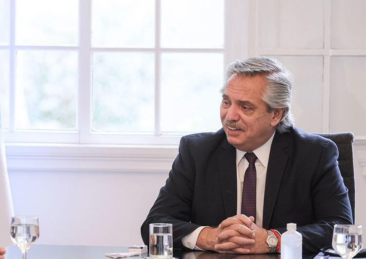 Alberto Fernández recibirá hoy a Horacio Rodríguez Larreta en Olivos