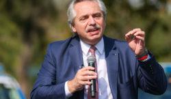 Alberto Fernández anuncia la promulgación de la ley de Educación…