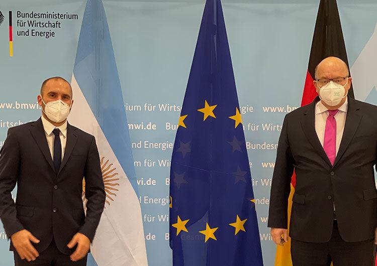 Guzmán se reúne en Berlín con el director de la Cancillería alemana