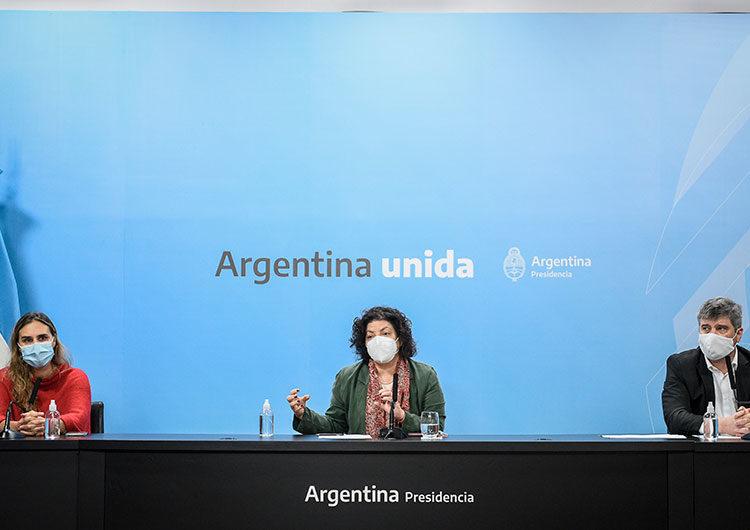 Vizzotti ofrecerá una conferencia de prensa en Casa Rosada