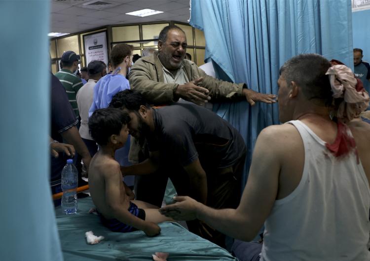 Hospitales de Jerusalén Este se llenan de heridos palestinos