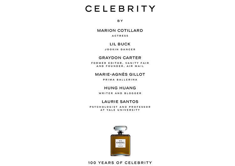 Chanel convoca voces internacionales para reflexionar sobre la noción de celebridad en constante evolución