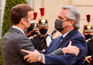 Fernández logró un fuerte apoyo de Macron para la Argentina: «Francia está de su lado»