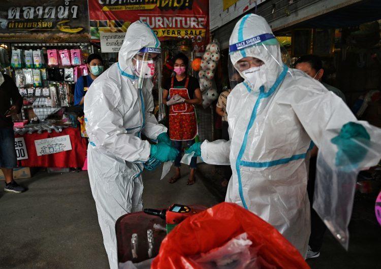 Investigadores tailandeses detectan el virus del covid-19 en transpiración humana