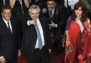 Alberto Fernández y Cristina Fernández de Kirchner cierran campaña nacional del FdT en Tecnópolis