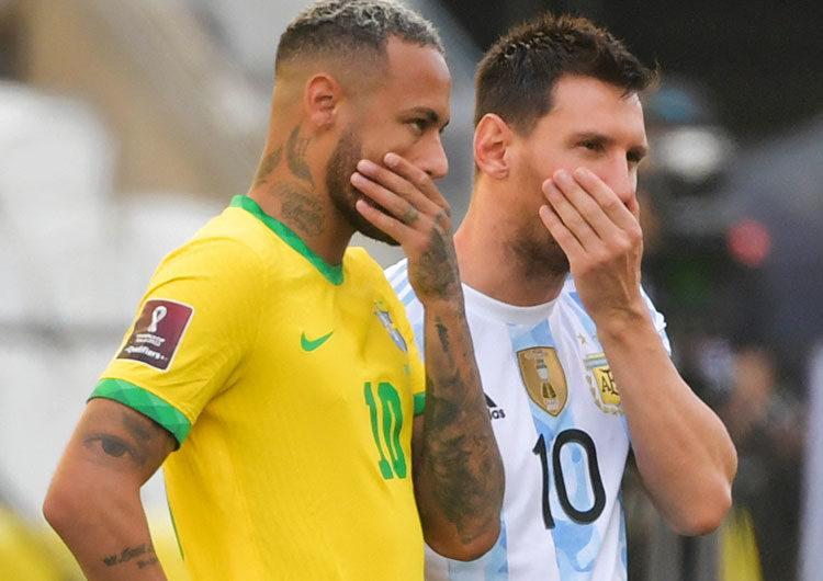El seleccionado argentino llegó a Ezeiza después del escándalo en Brasil